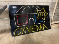 7D Cinema Sign