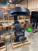"2018 MWE Lab Emperor XT Scorpion Seat, Model: C49HG90DMN w/ Samsung 49"" Gaming Monitor"