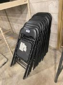 Lot of (14) Folding Chairs