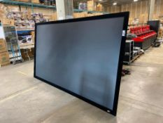 "Elite Screens 144"" Projection Screen"