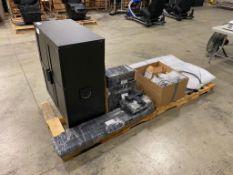 Multi-Sport Simulator w/ Screens, Panasonic PT-V2570 Projector, Controllers, Cameras, Guns, etc.
