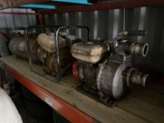 Lot of (2) Asst. Pumps and (1) Pressure Tank