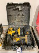 DeWalt 18V Cordless Drill/ Impact Set