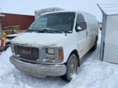 1999 GMC Savana Diesel Cargo Van VIN #: 1GTGG25F9X1053190