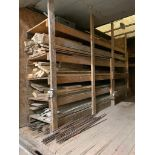 Lot of Asst. Form Lumber and Rebar