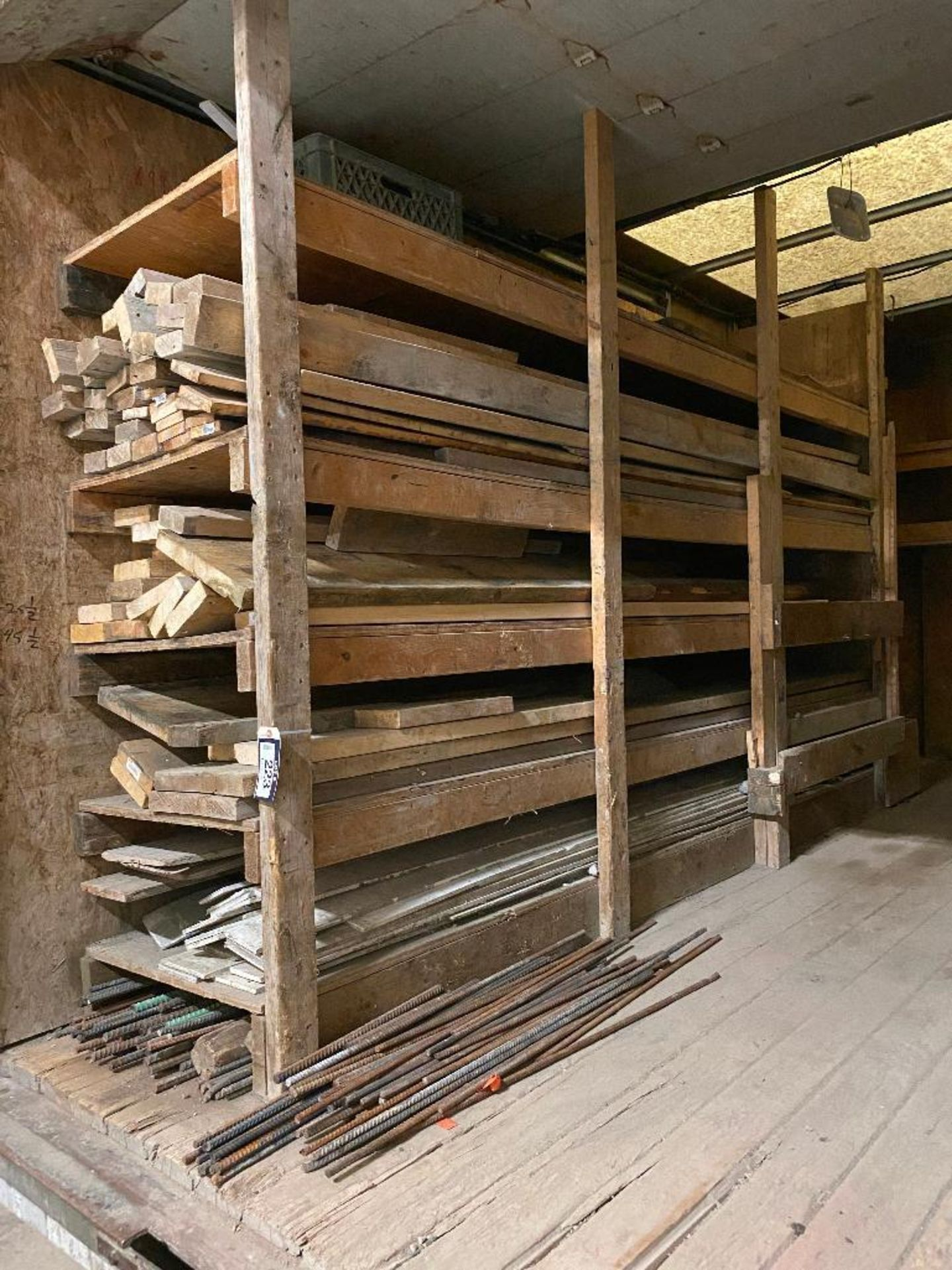 Lot of Asst. Form Lumber and Rebar