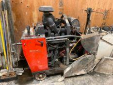 """Husqvarna FS6600D t3 30"""" Diesel Walk-Behind Flat Saw, Serial#: 001304659001"""