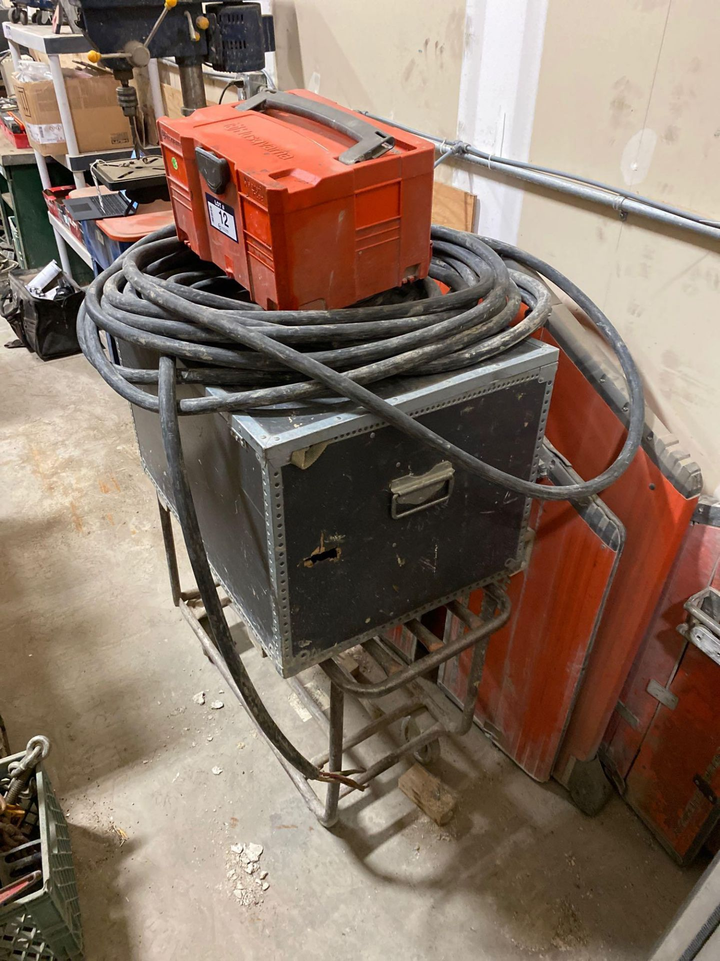 Husqvarna WS 440 HF Electric Wall Saw, Husqvarna PP 440 HF Power Pack, Track System, Blade Guards, e - Image 2 of 17