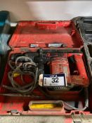 HILTI TE 22 Electric Rotary Hammer Drill