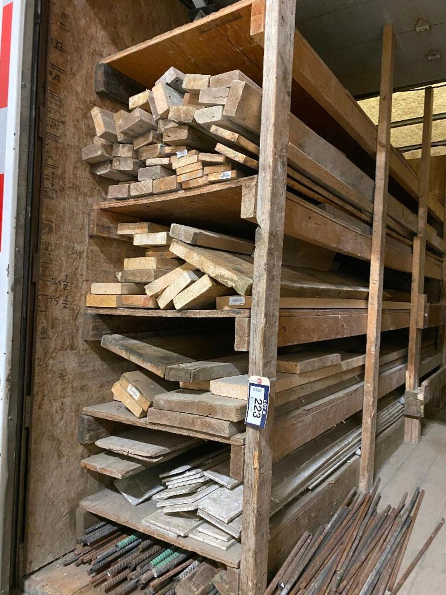 Lot of Asst. Form Lumber and Rebar - Image 3 of 4