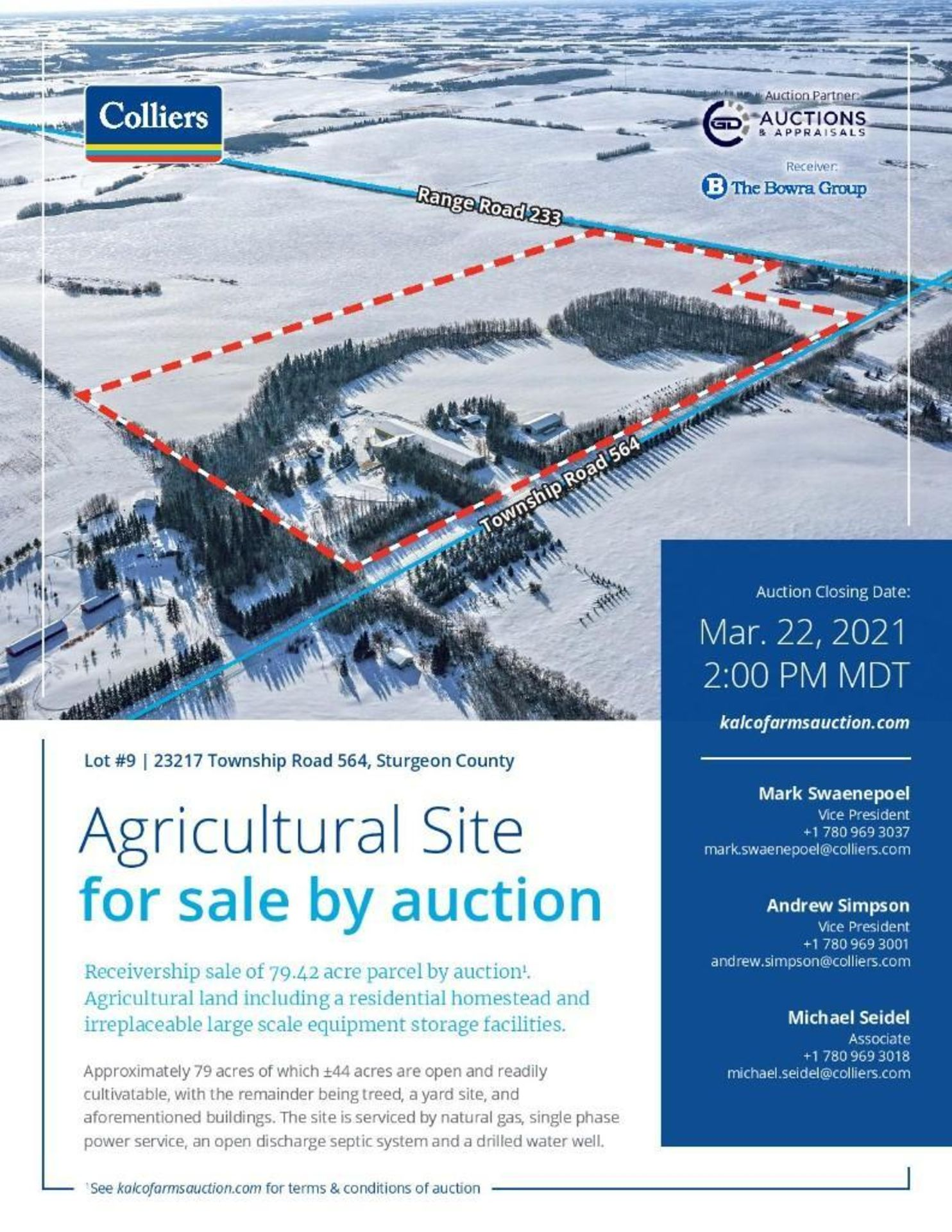 Lands and Property located at Civic Address 23217 Township Road 564, Sturgeon County. - Image 2 of 9