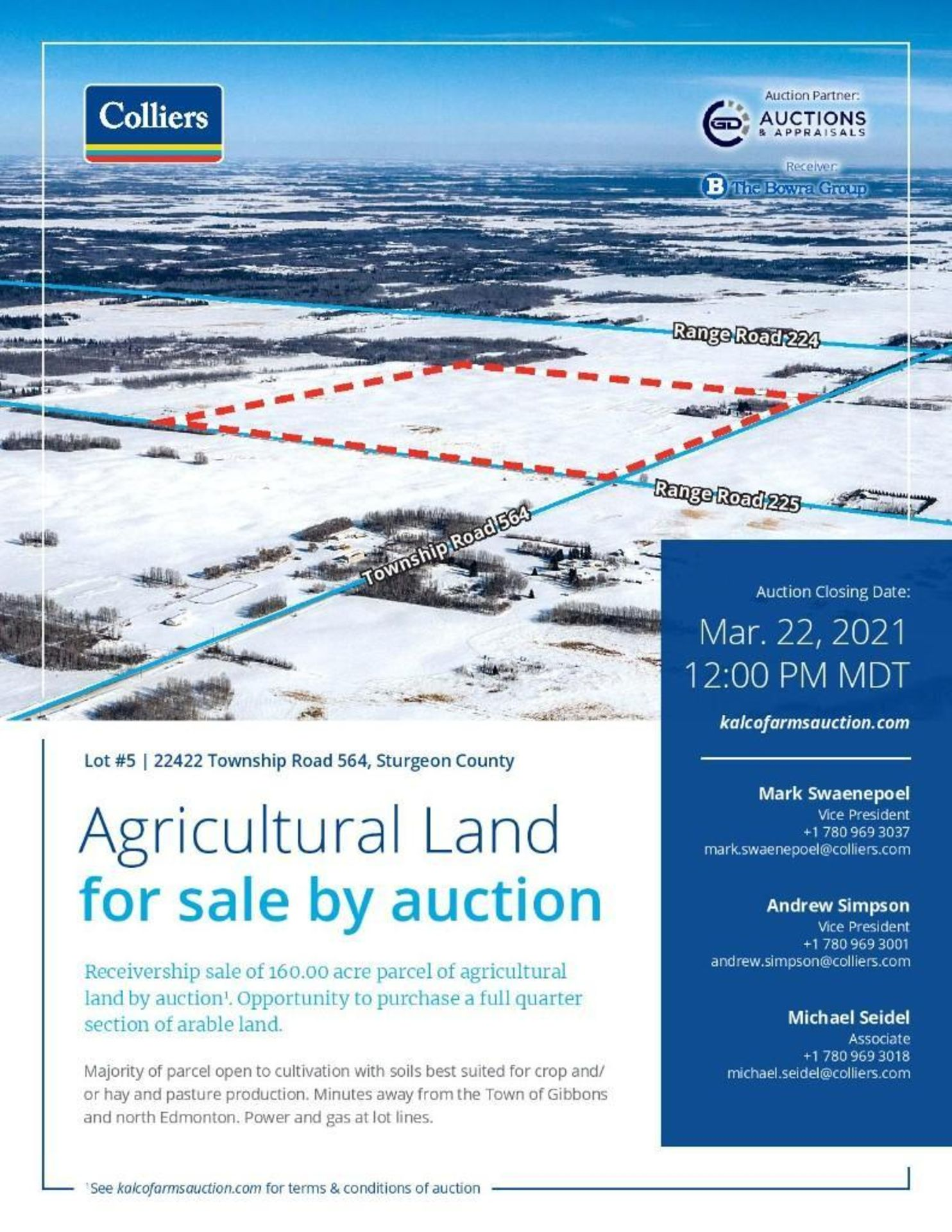 Lands located at Civic Address 22422 Township Road 564, Sturgeon County. - Image 2 of 7