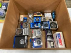 Lot of Asst. Automotive Gauges and Dials