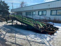 12' X 30' Steel Loading Ramp
