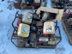 Pallet of Asst. Pumps for Parts or Repair