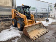 Case Skid Steer 430, 5,332hrs Showing, Serial#: N5M413308 w/ Bucket