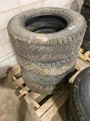 Lot of (4) Asst. LT265/70R17 Tires