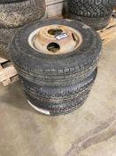 Lot of (3) Asst. 235/80R16 Tires