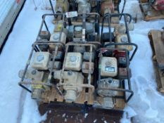 Pallet of (6) Asst. Pumps for Parts or Repair