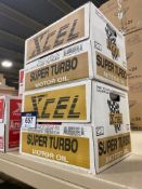 Lot of (2) Cases of XCEL 20W-50 Super Turbo Motor Oil