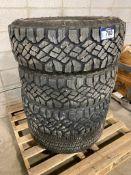 Lot of (4) Asst. LT265/70/R17 Tires