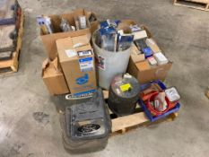 Lot of Asst. Automotive Parts including Wiper Blades, Headlights, Filters, etc.