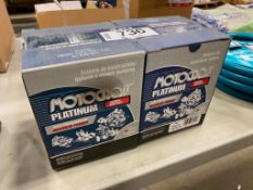 Lot of (2) Motocross Platinum Motorcycle/ Powersport Battery