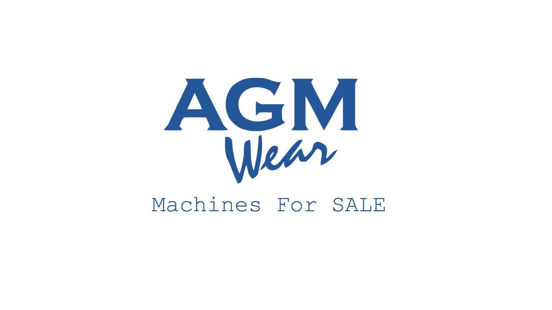 POSTPONED- Unreserved AGM Wear Ltd. Surplus Assets Timed Online Auction