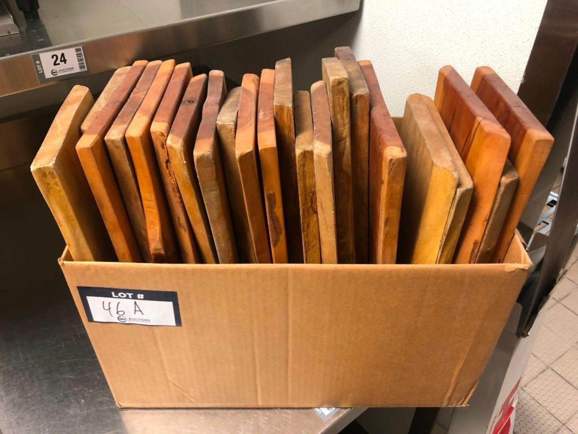 BOX OF HAND CRAFTED CANADIAN CHEESE BOARDS