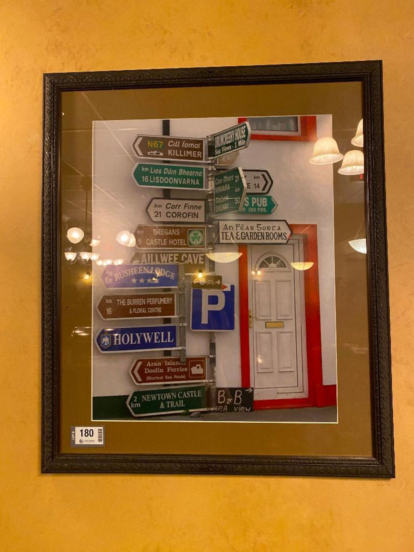 LOT OF (3) FRAMED MEMORABILIA PHOTOS & (1) PRIDE O'THE IRISH PLAQUE - NOTE: REQUIRES REMOVAL FROM WA - Image 2 of 4