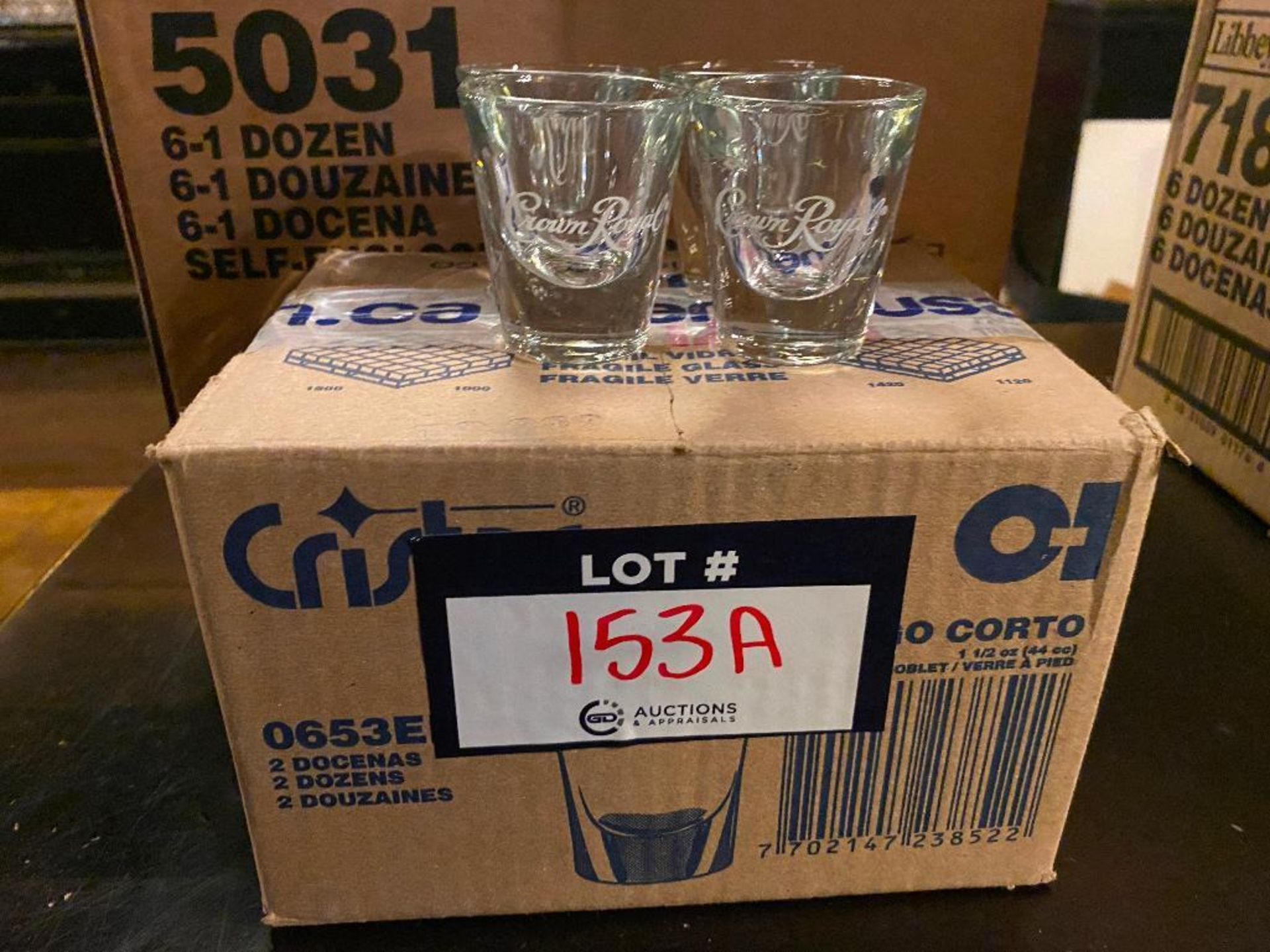 LOT OF (2) BOXES OF SHOT GLASSES - Image 2 of 3