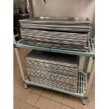 LOT OF APPROX. (50) FULL SIZE BAKING SHEETS