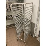 20 TIER ALUMINUM BUN PAN RACK