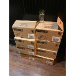 LOT OF (8) BOXES OF GUINNESS BRANDED BEER GLASSES