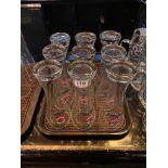 LOT OF (9) ERDINGER WEISSBRAU GLASSES