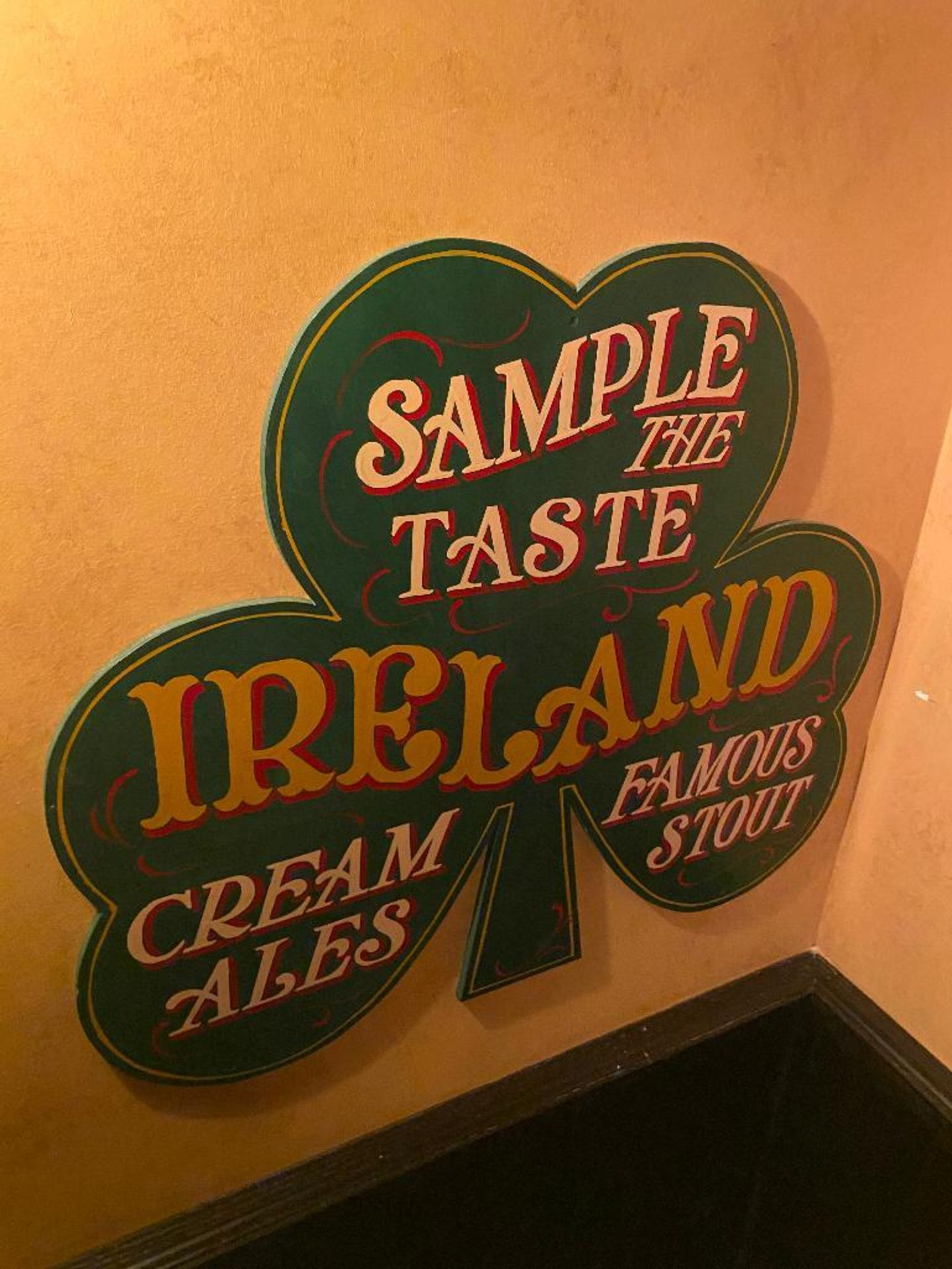 LOT OF (3) FRAMED MEMORABILIA PHOTOS & (1) SAMPLE THE TASTE IRELAND PLAQUE - NOTE: REQUIRES REMOVAL - Image 3 of 3