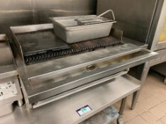 WELLS 6 BURNER CHARBROILER - NOTE: REQUIRES DISCONNECT, PLEASE INSPECT