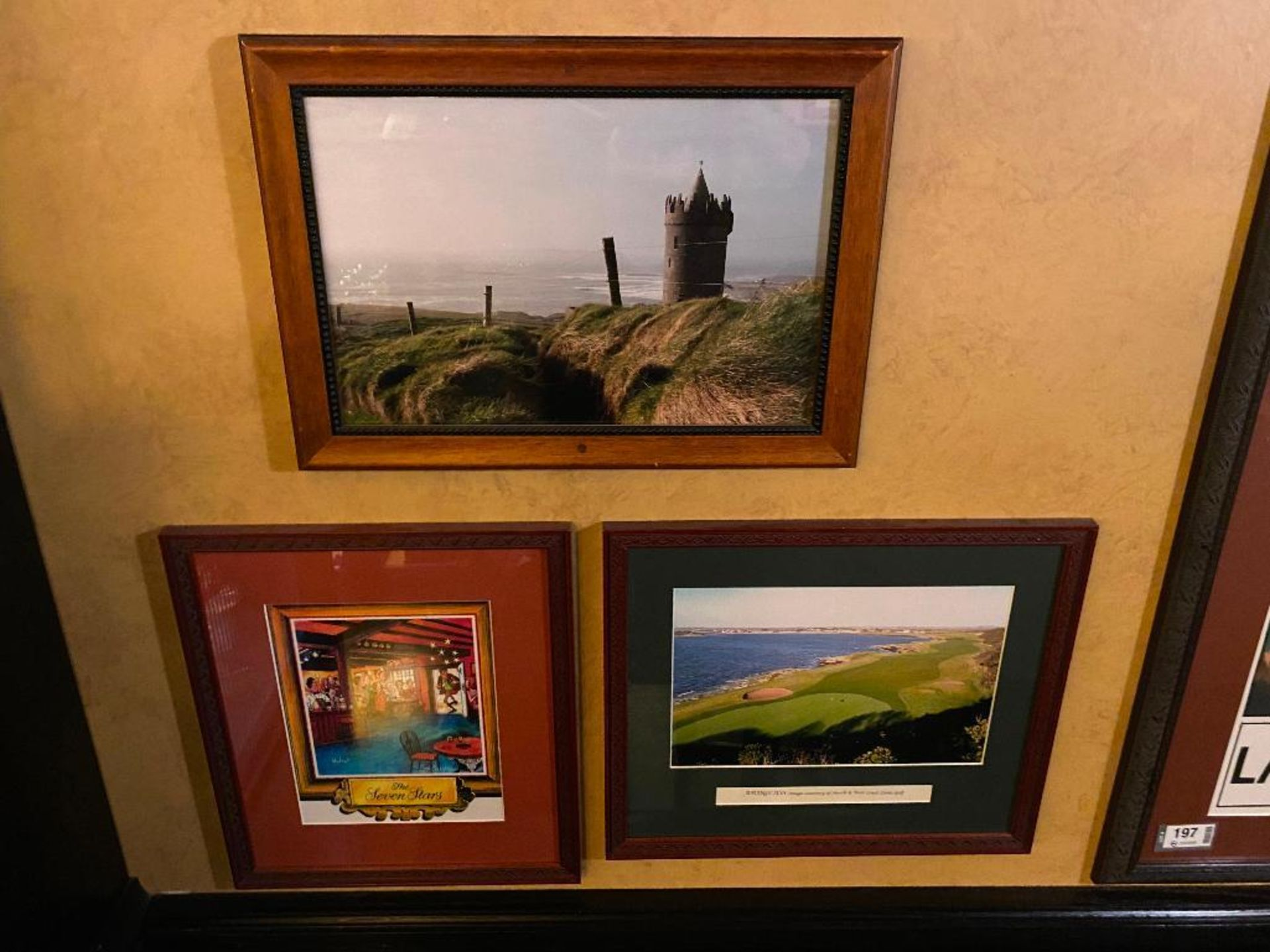 LOT OF (4) FRAMED MEMORABILIA PHOTOS - NOTE: REQUIRES REMOVAL FROM WALL, PLEASE INSPECT - Image 3 of 3