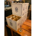 LOT OF (5) BOXES OF ERDINGER WEISSBIER GLASSES
