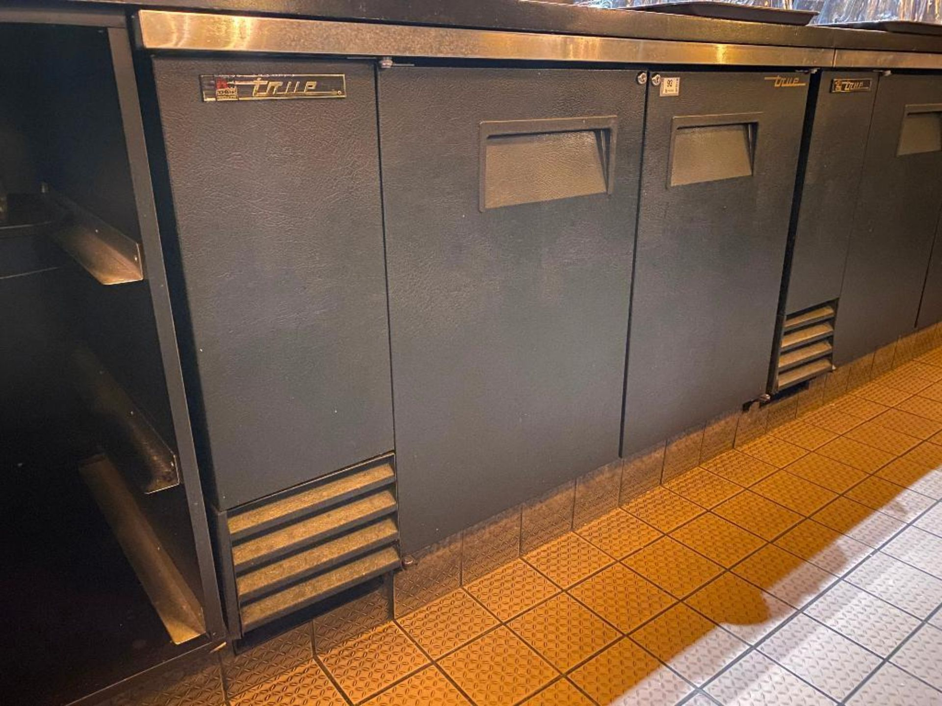 "TRUE TBB-2 59"" 2 DOOR SOLID BACK BAR REFRIGERATOR - NOTE: REQUIRES REMOVAL FROM UNDER BAR, PLEASE IN - Image 2 of 4"