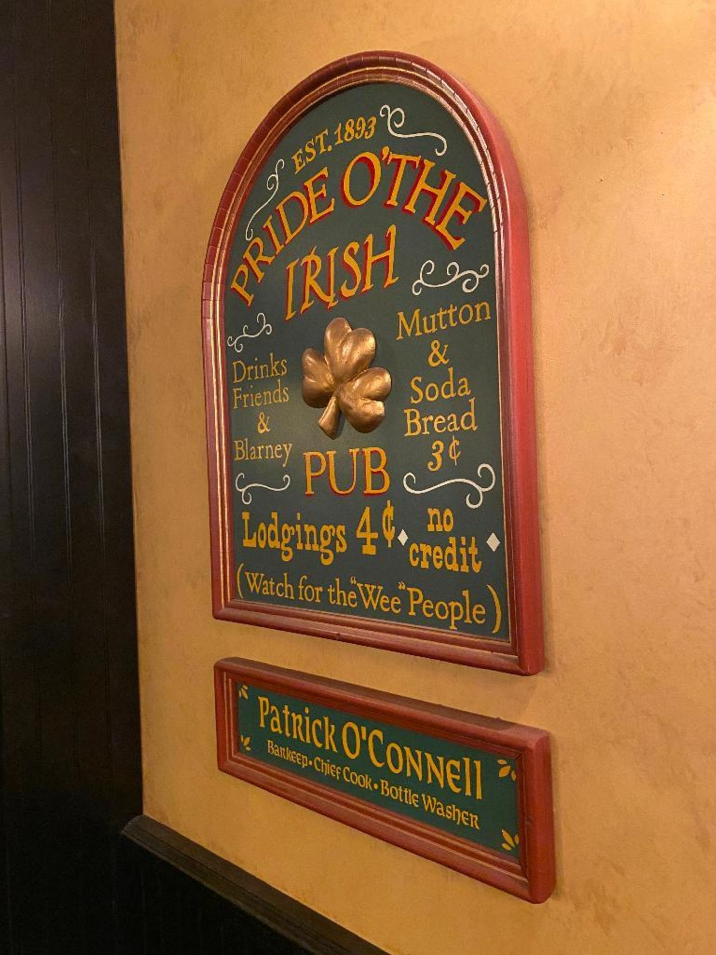 LOT OF (3) FRAMED MEMORABILIA PHOTOS & (1) PRIDE O'THE IRISH PLAQUE - NOTE: REQUIRES REMOVAL FROM WA - Image 4 of 4