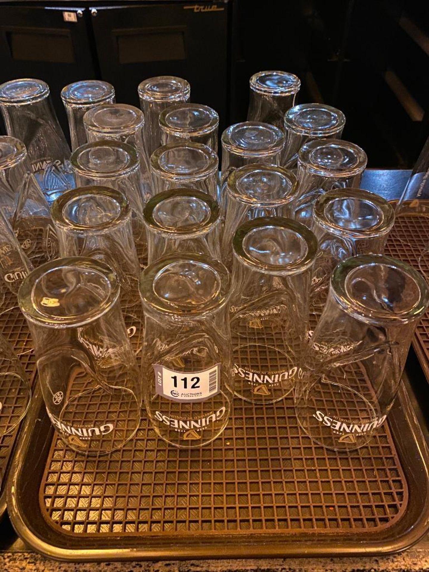 """3 DOZEN GUINNESS """"BREWED IN DUBLIN"""" PINT GLASSES - Image 2 of 3"""