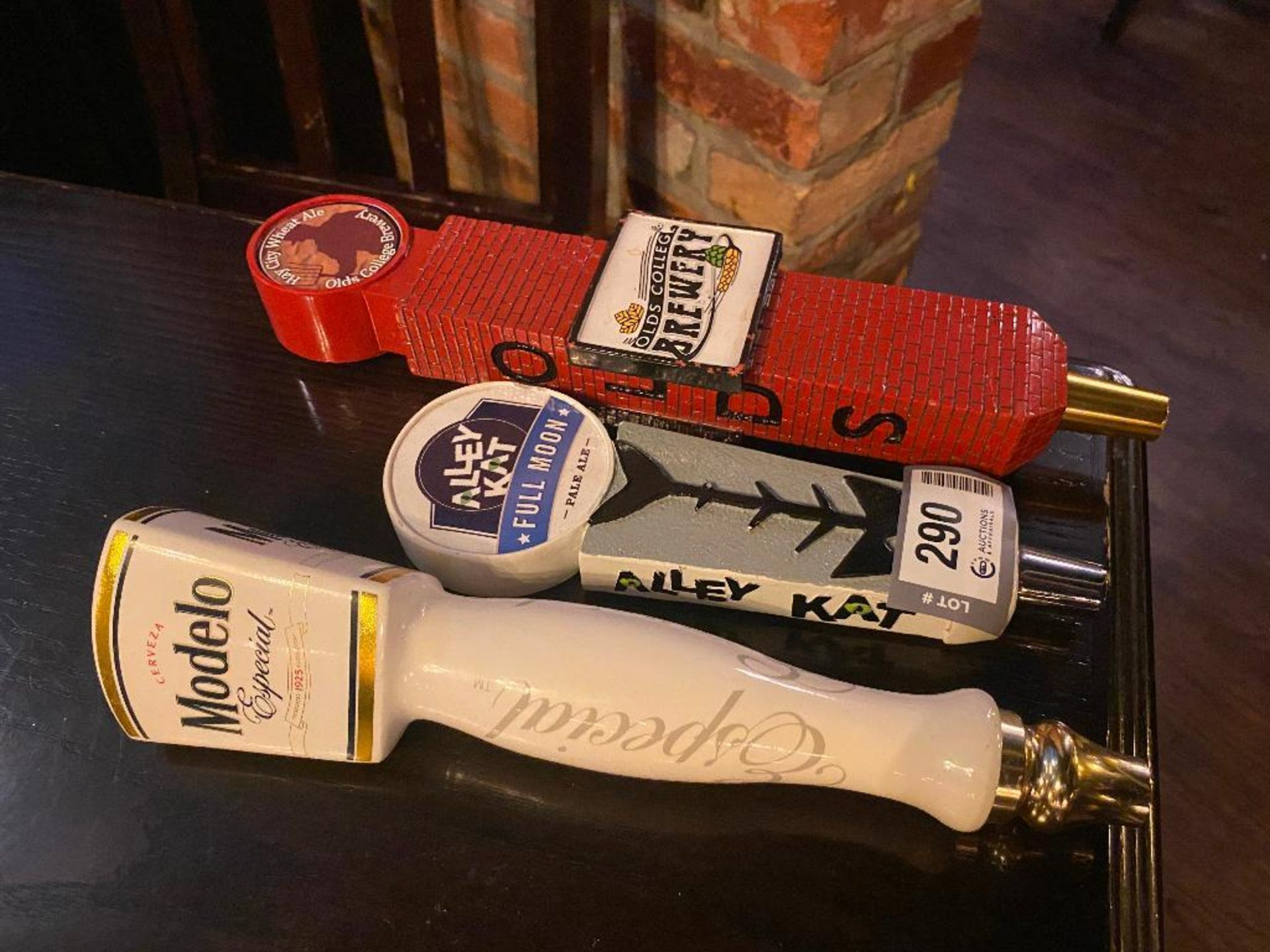LOT OF (3) ASSORTED BEER TAPS - Image 2 of 2