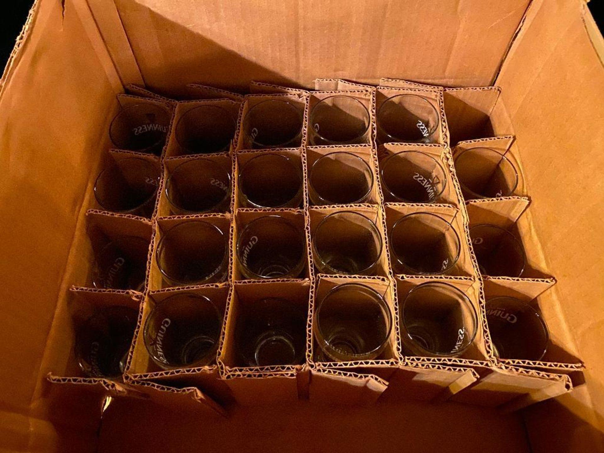 LOT OF (20) MINI GUINNESS GLASSES - Image 2 of 2