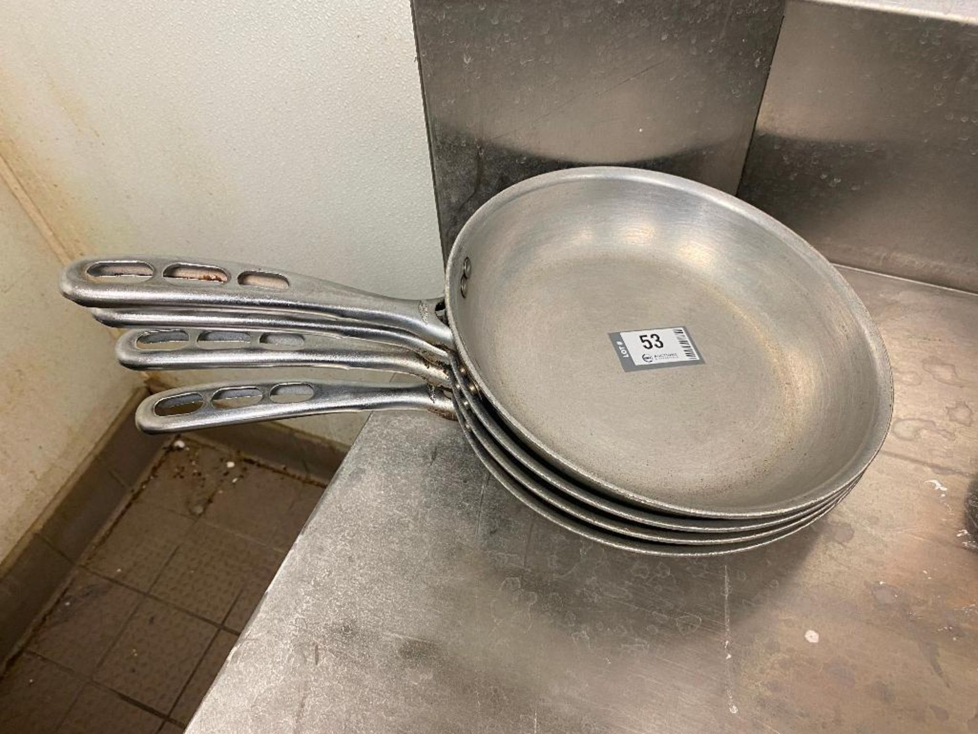 """LOT OF (4) 10"""" VOLLRATH FRYING PANS - Image 2 of 2"""