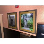 LOT OF (4) FRAMED MEMORABILIA PHOTOS - NOTE: REQUIRES REMOVAL FROM WALL, PLEASE INSPECT