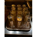 LOT OF (12) VILLAGE BREWERY GLASSES