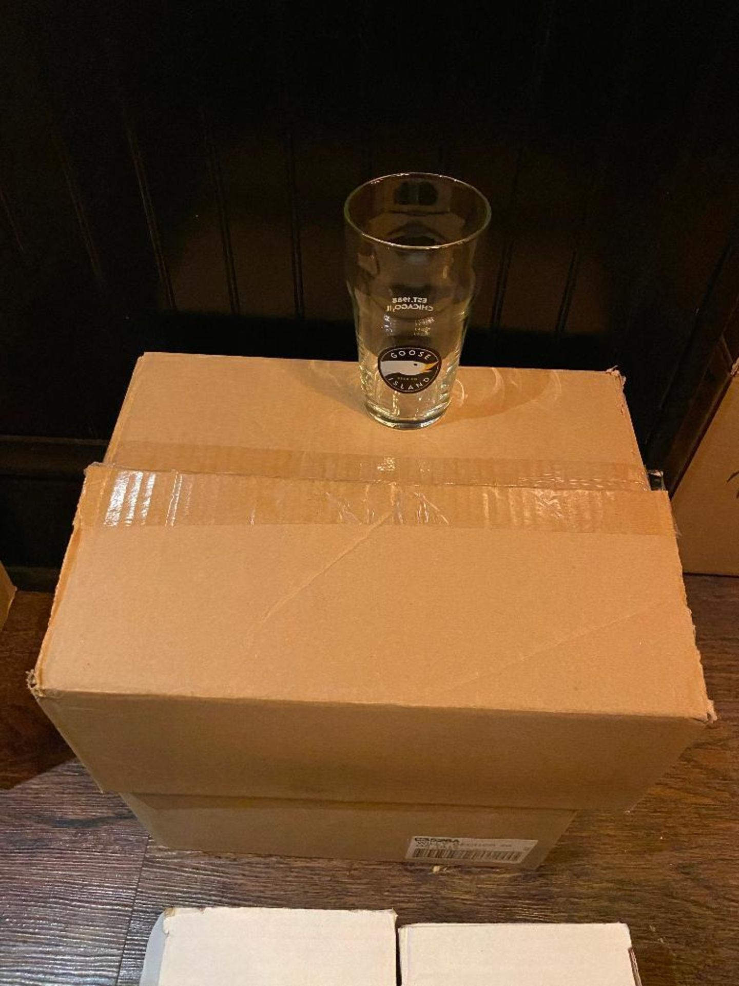 LOT OF (5) BOXES OF ASSORTED BRANDED GLASSES - Image 5 of 6
