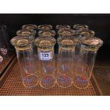 LOT OF (12) MICHELOB ULTRA GLASSES