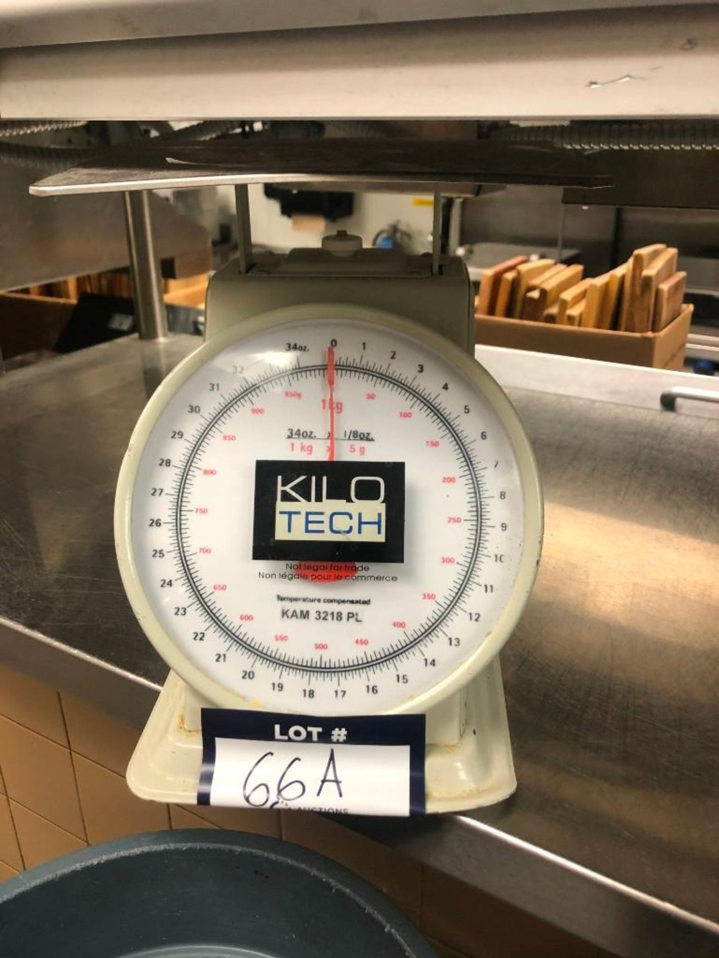 KILOTECH KAM 3218PL ANALOG PORTION CONTROL SCALE
